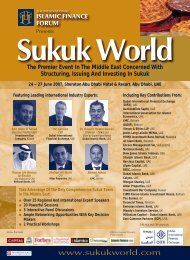 Sukuk World - John A. Sandwick