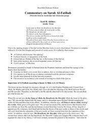Commentary on Surah Al-Fatihah - Islam