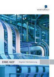 TRICAD MS Digitale Fabrikplanung - VenturisIT GmbH