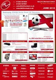 Samsung ES6300 Series Smart 3D Televisons - HB Litherland and ...