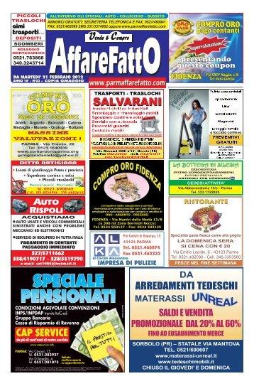 ARREDAMENTI TEDESCHI - Affare Fatto Parma