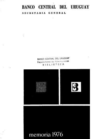1976 - Biblioteca Virtual de Recursos para la Investigación Económica