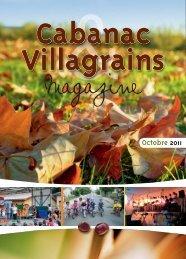 Octobre 2011 - Commune et mairie de Cabanac et Villagrains