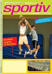 November/Dezember 2008 - Sportiv