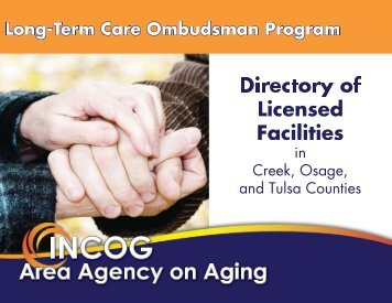 Complete Directory of Licenses Facilities - INCOG