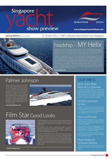 Spring Edition - Singapore Yacht Show