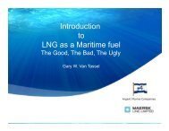 Introduction to LNG as a Maritime fuel - Amazon Web Services