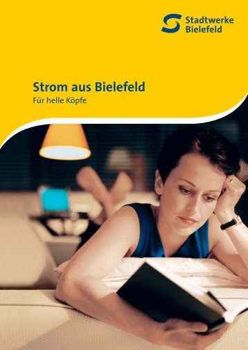 Strom aus Bielefeld - Stadtwerke Bielefeld