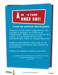 867Kb PDF - Musée des sciences et de la technologie du Canada