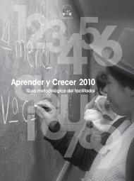Aprender y Crecer 2010