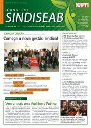 Começa a nova gestão sindical - SindiSeab