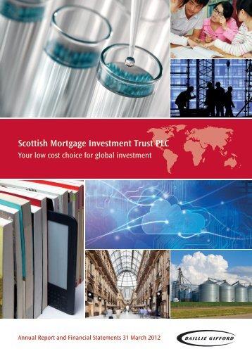 Scottish Mortgage Investment Trust PLC - Vcall.com