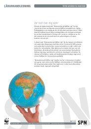 LÄRARHANDLEDNING - Världsnaturfonden WWF