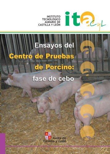 Ensayos del Centro de Pruebas de Porcino: fase de cebo ... - ITACyL