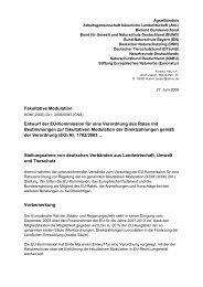 Fakultative Modulation - Die bessere Agrarpolitik