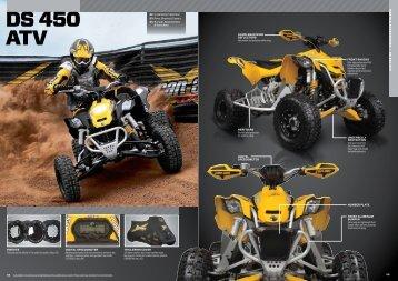 DS 450 ATV - Allrad Horn