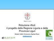 Il Piano provinciale per la prevenzione dei rifiuti ... - Urban Center