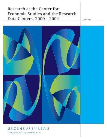 2004 - Census Bureau