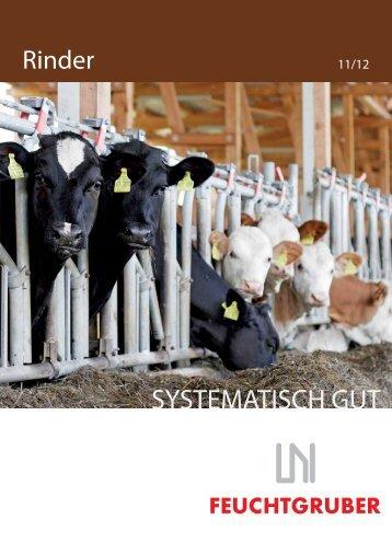 SYSTEMATISCH GUT - Rinder-Stalltechnik