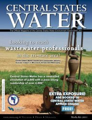 wastewater professionals - Central States Water Environment ...