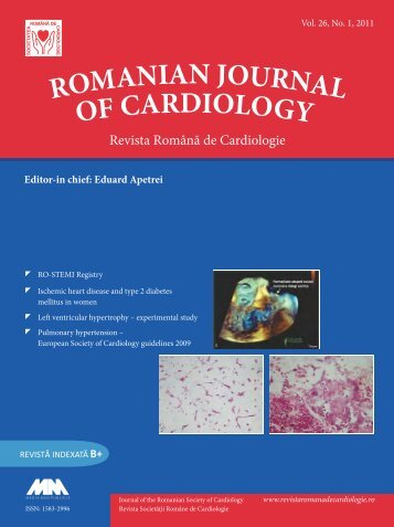 Nr. 1/2011 - Romanian Journal of Cardiology