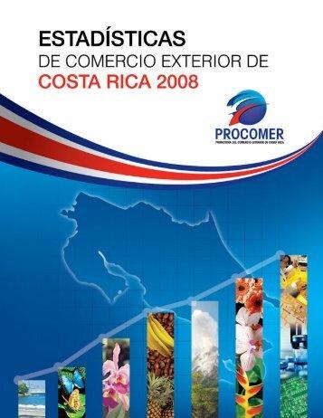 Anuario Estadisticas2008 - Procomer