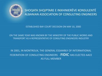 Albanian Association of Consulting Engineers