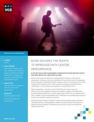 Suisa Case Study - VCE
