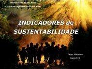 INDICADORES de SUSTENTABILIDADE - CDCC