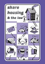 Share Housing and the Law - Unilife