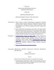 Registrasi Kepabeanan - Direktorat Jenderal Bea dan Cukai