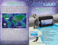 AquaKLEAR Brochure - Temp-Press Inc