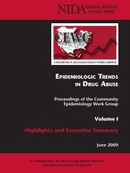 Epidemiologic Trends - National Institute on Drug Abuse