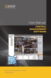 User Manual CMS - Q-See