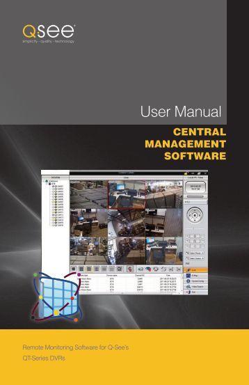 User Manual CMS - Q-See