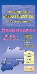 11/06 Unterallgäu - VWS Handwerker - Das Handwerkerverzeichnis