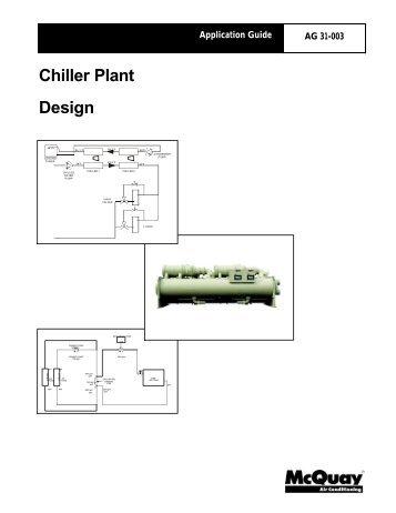 Ag 31 002 centrifugal chiller fundamentals mcquay international chiller plant design mcquay cheapraybanclubmaster Choice Image
