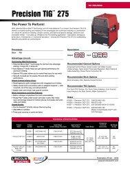 Precision TIG™ 275 - BJH