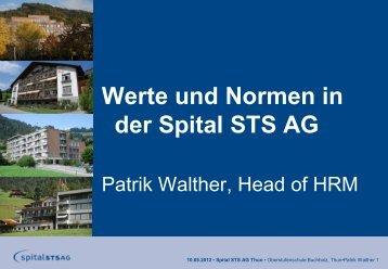 02 HRM Einführung Eintrittstag - Oberstufenschule Buchholz Thun