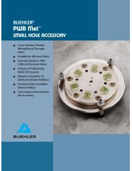 PWB Met™ Small Hole Accessory