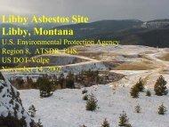 Libby Asbestos Site Libby, Montana