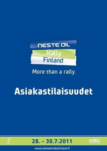 tästä - Neste Oil Rally Finland