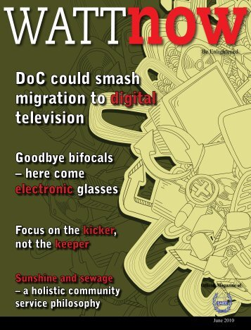 download a PDF of the full June 2010 issue - Watt Now Magazine
