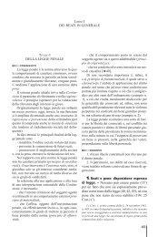 45 DEI REATI IN gENERALE DELLA LEggE PENALE 1 ... - La Tribuna