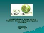 RENADAPTOR presentation courte - Service de néphrologie dialyse