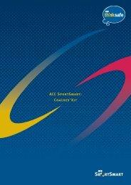 ACC SportSmart: Coaches' Kit