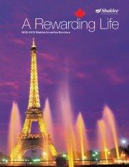2012–2013 Shaklee Incentive Brochure
