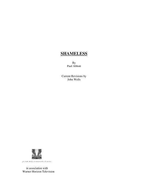 SHAMELESS - Zen134237.zen.co.uk