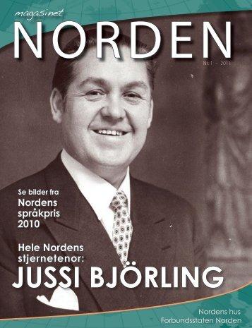 JUSSI BJÖRLING - Forsiden - Foreningen Norden