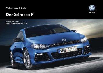 Der Scirocco R - Volkswagen AG